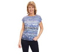 T-Shirt Rundhalsausschnitt Mustermix
