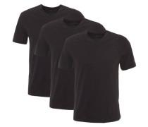 """Wäsche-Shirt """"Pure Cotton"""" 3er-Pack V-Ausschnitt Baumwolle"""