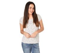 T-Shirt, Allover-Print, Rundhalsausschnitt, Baumwolle