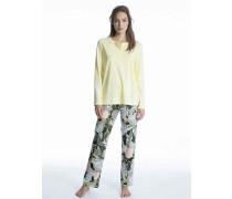 Pyjama mit Knopfleiste Cosy Cotton Fair