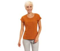 T-Shirt Lochmuster reine Baumwolle