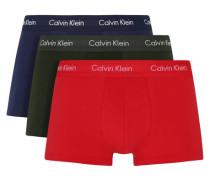 Pant 3er-Pack elaticher Logo-Bund unifarben