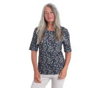 "Shirt ""Greta"" Bio-Baumwolle Halbarm florales Muster"