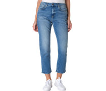 "Jeans ""Mary"", 7/8-Länge, High Waist, für Damen, , W28/L30"