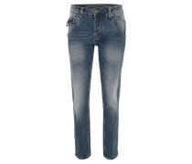 "Jeans ""Harold Rough"", Regular Fit, Waschung"