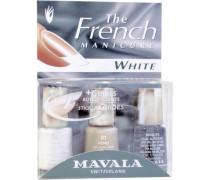 French Manicure White, Nagellack-Set