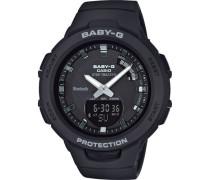 "Hybrid-Smartwatch Baby-G ""BSA-B100-1AER"""