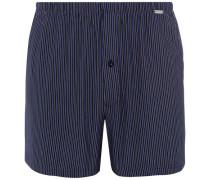 Boxershorts gestreift /blau XL