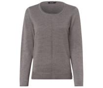 Pullover, Rundhalsausschnitt, für Damen, hellgrau, 40