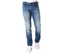 "Jeans ""Skyhawk"" Slim Fit Straight Leg Stretch größenverstellbar"