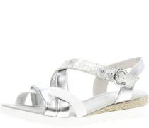 Sandalenaterialmix Leder, Klettverschluss,