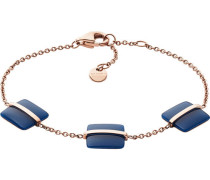 "Armband Sea Glass ""SKJ1137791"" Edelstahl rosévergoldet"