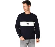 Sweatshirt, Rundhas-Ausschnitt, Bockstreifen,