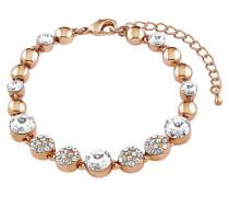Armband mit Kristallen 36810 rosevergoldet rosegold