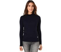 Pullover, gerippt, Turtle-Neck, für Damen