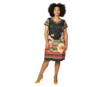 Kleid Ethno-Print Große Größen