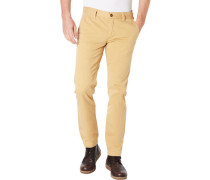 Chinos, regular Slim fit, uni, für Herren, 234 , W33/L30