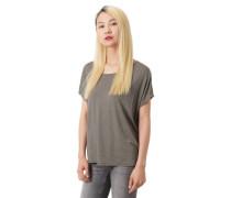 S.er Black Label T-Shirt V-Ausschnitt hinten Glitzer-Effekt Loose Fit