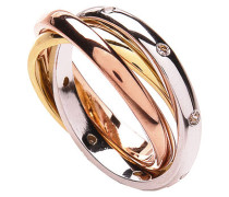 Ring vergoldet