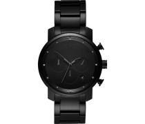 "Armbanduhr ""Black Link"" MC02-BB, Chronograph"