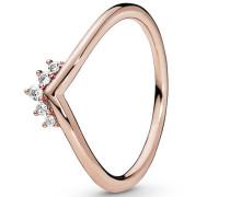 """Ring Tiara Wishbone """"188282CZ"""",  ROSE, 54"""