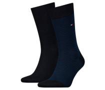 "Socken ""SMALL STRIPE"" 2er-Pack hoher Baumwollanteil"