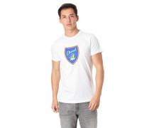 """T-Shirt """"Diego"""" Marken-Print Baumwolle"""