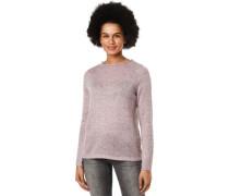 Pullover, Melange, Rollsaum, für Damen, S