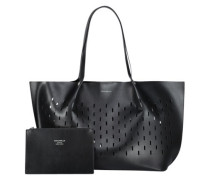 Black beauty oversized shopper