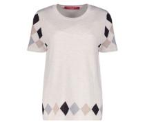 Argyle print jumper
