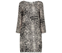 Eclectic  print shift dress