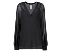 Black all the way casual top