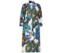 Eclectic print midi dress