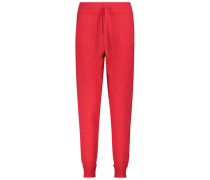 Striking drawstring trousers