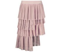 Asymmetric Tiered Midi Skirt