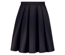 High waist flared skirt