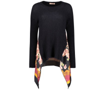 High-low floral jumper