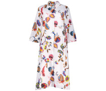 Floral play midi dress
