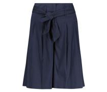 Flared longline shorts