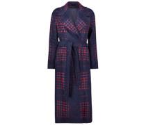Printed Longline Overcoat
