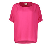 Electric pink boxy top