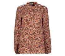Feminine printed blouse