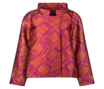 Chinese collar crop jacket