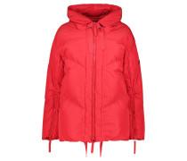 Vibrant sporty puffer jacket