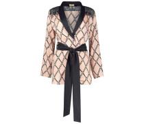 Glam chain wrap jacket