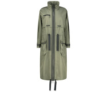 Maxi windbreaker jacket