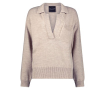 V-neck trendy jumper