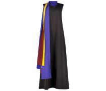 Sleeveless scarf detail dress