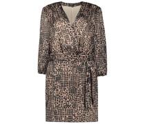 Ebullient print Oberteil dress