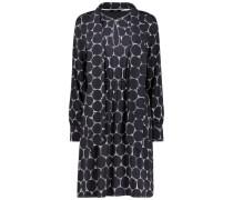 Honeycomb pattern shift dress
